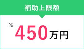 補助上限額450万円